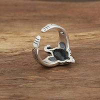 925 Sterling Silver Ganesh Ring 2