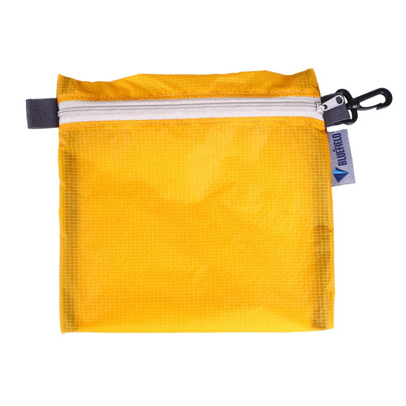 Outdoor Waterproof Bag Swimming Bag Pouch For Camping Hiking With Hook Zipper Storage Bag 4 Colors Pocket Pouch