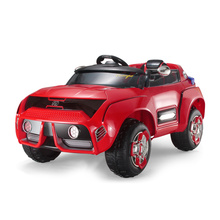 Kids Four-wheel Drive Electric Car Remote Control Toy Shock Absorption Vehicle Can Baby Sport With Music