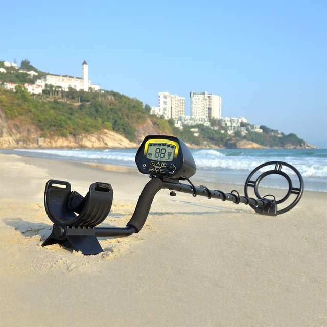 US 127 0 Underground Metal Detector MD3030 Waterproof Jewelry Treasure Hunting Gold Digger Hunter Adjustable Metal Finder In Industrial Metal