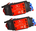 LHM015 2pcs Simonk 30A Brushless 450 helicopter multicopter Motor Speed Controller ESC