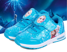 Anna elsa girl shoes 2016 New fashion spring autumn Children sports Shoes For Kids Baby Girls Sneakers girl Casual Sports Shoes