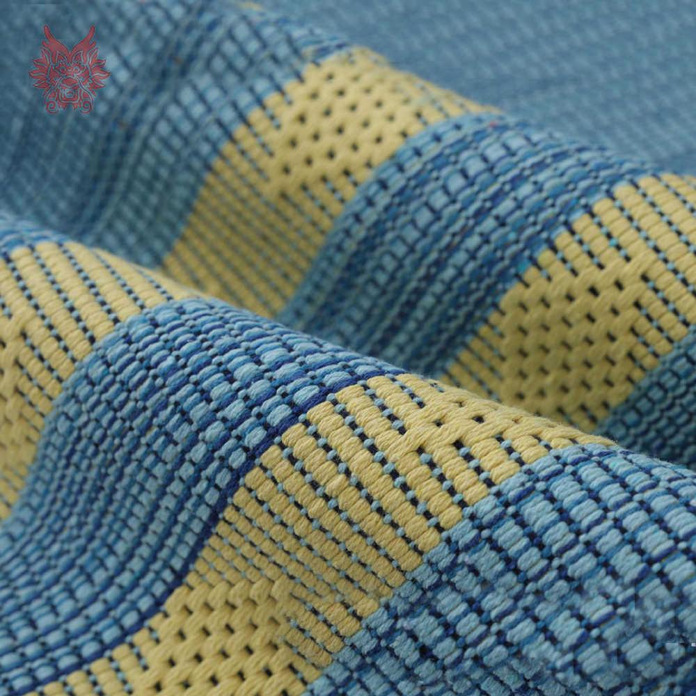 Pastoral lace decor stripe weaving cotton sofa cover slipcovers canape furniture couch covers sectional fundas de sofa  SP4969