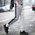 2017 Moda Outono Inverno Calças Dos Homens Marca de Roupa Masculina Casual Calças Baggy Sweatpants Aptidão Calças Táticas Quentes Plus Size