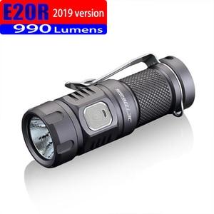 Image 3 - 2019 jetbeam e20r edc lanterna cree sst40 n4 bc led 990 lumen 4 modelo função de memória interruptor lateral 16340 lanterna