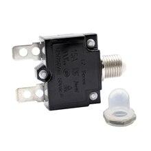 Manual Reset Overload Switch 125/250VAC 50VDC Thermal Circuit Breaker 15Amp