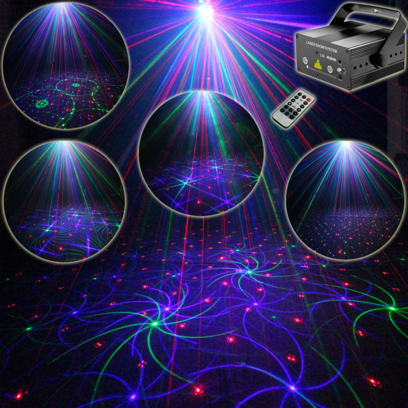 Eshiny MINI RGB 2 Lens Laser 24 Patterns Projector Full Color Red Green Blue Club Home Party Bar DJ Disco Xmas Stage Light T68 3 lens 36 patterns rg blue mini led stage laser lighting professinal dj light red gree blue