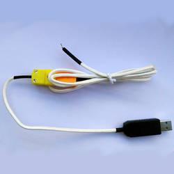 Usb-K Тип термопары Температура коллектор преобразователь может Поддержка два развития Бесплатная Drive