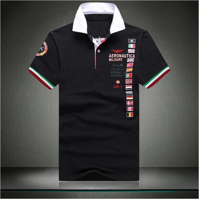 XXL-8XL Plus Size AFB Brand Polo men Gasp Cotton Fitness Classic polo shirt Men Blue Red(XXL XXXL 4XL 5XL 6XL 7XL 8XL)
