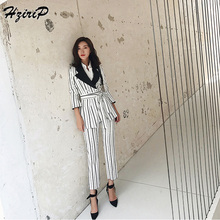 HziriP 2018 Business Women 2 Piece Sets Interview Suit