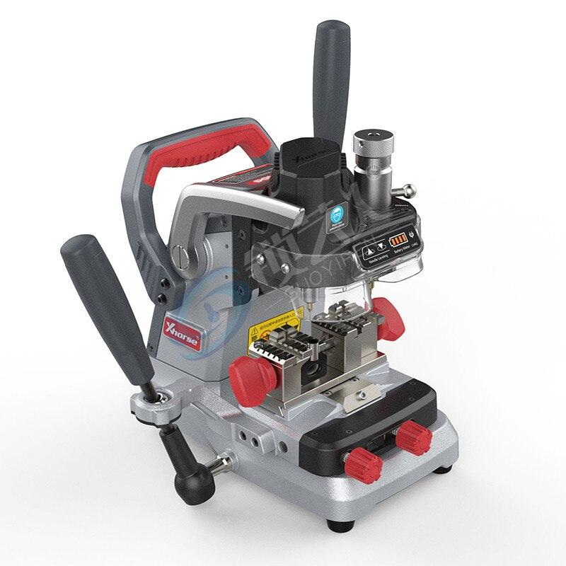 Xhorse VVDI Condor XP007 Flat Milling Auto Car Key Cutting Machine Vertical Internal Manual Key Machine MFP