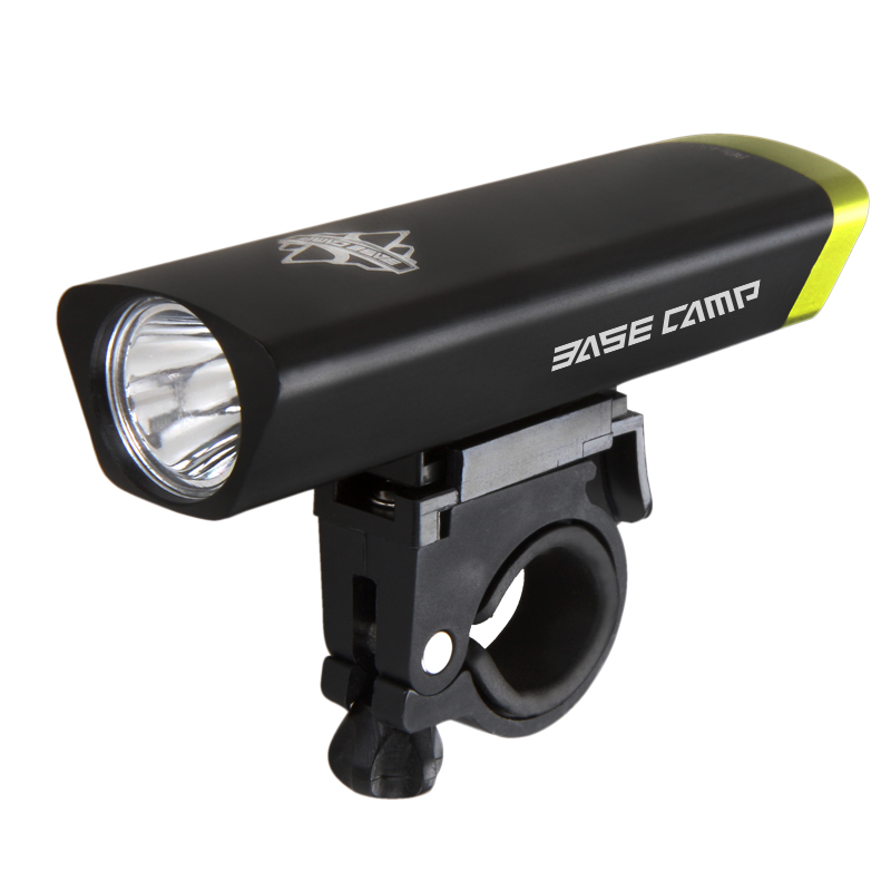 BASECAMP Bicycle Front Light 3 Watt LED Light 3 Mode Bike Light Flashlight MTB Bicycle Headlight Cycling Lamp+ Torch Holder bicycle light waterproof multi function 2 t6 front light usb charging bicycle lamp bike headlight light flashlight torch