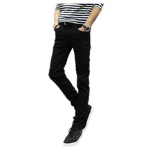 2016 männlichen schwarzen dünne jeans shorts herrenbekleidung trend schlanke kleine hose männlichen casual hosen Große größe 27-36