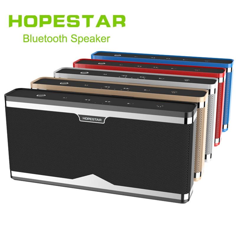HOPESTAR Touch Column Wireless Bluetooth Speaker Portable Outdoor Loudspeaker Subwoofer Power Bank for iPhone&xiaomi&Samsung цена 2017