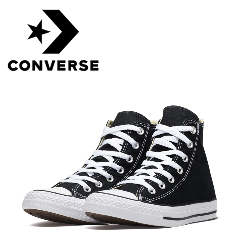 Converse Skateboarding-Shoes Womens Shoes Canvas Classic High-Top All-Star Unisex Original