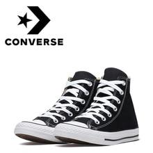 Оригинальные аутентичные Конверс Все звезды Скейтбординг обувь для мужчин классические унисекс холщовые высокие уличные Снеговики женская обувь