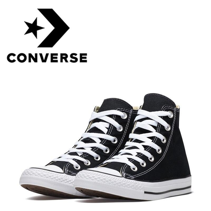 Original authentique Converse toutes les étoiles chaussures de skateboard pour hommes classique unisexe toile haut en plein air Sneaksers femmes chaussures