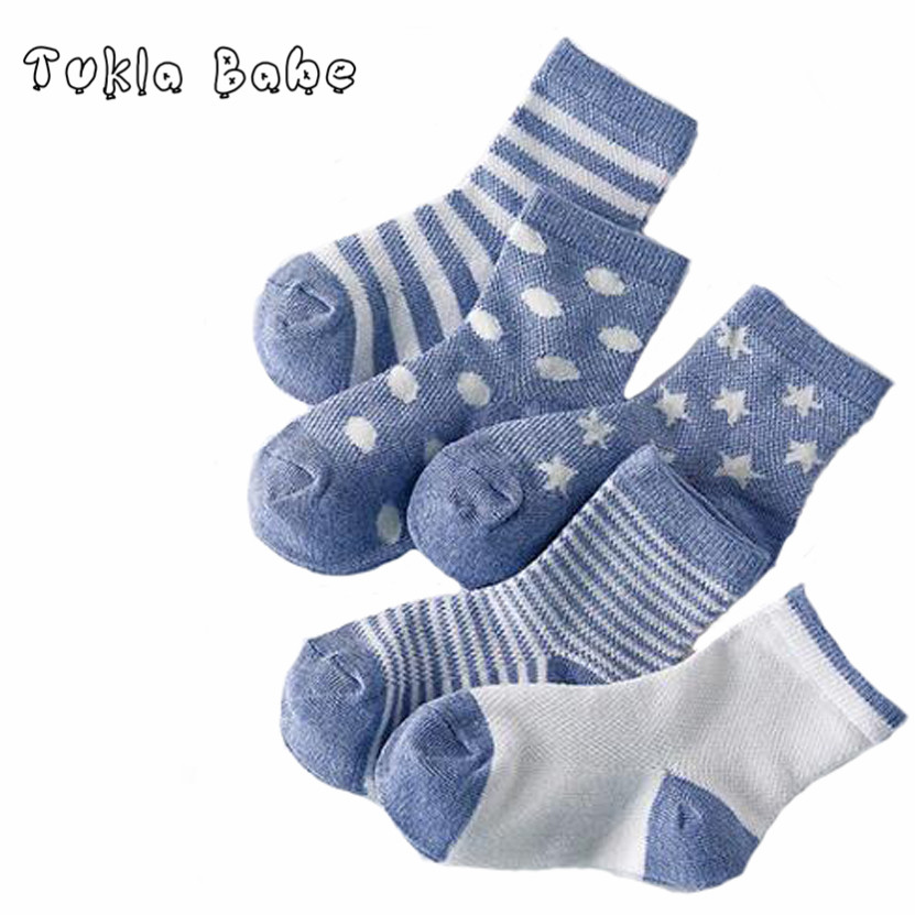 5 Pairs Pack Newborn Summer Baby Socks Fashion Mesh Children Kids Socks For Child Boys Girl Clothing Accessories Free Shipping