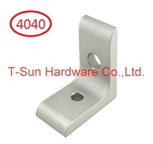 2 Hole Transition Inside Corner Bracket for 4040 Aluminum Profile