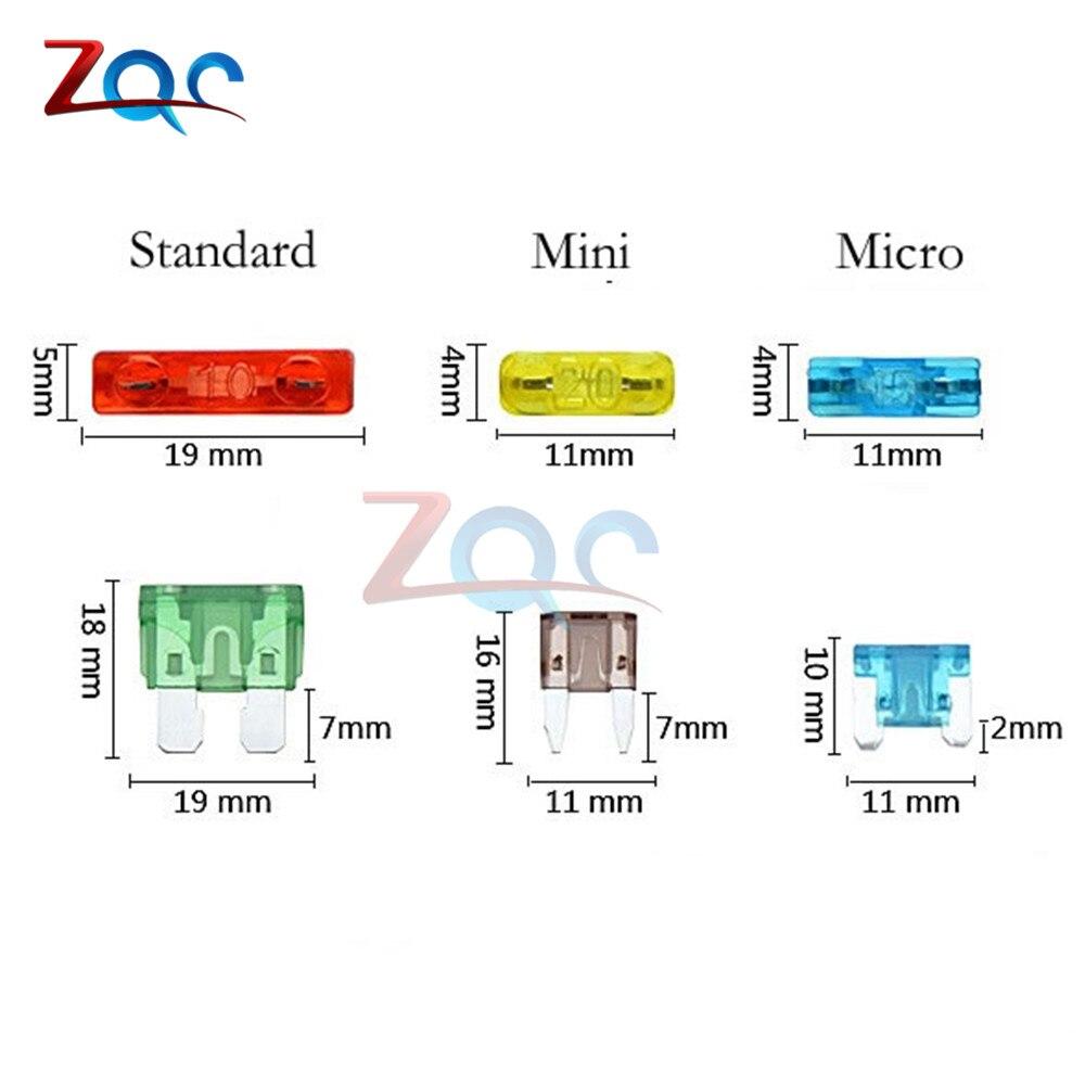 12 V Держатель предохранителя добавить-отвод цепи адаптер Micro мини Стандартный ATM, APM автоматический предохранитель с 10A плавкий предохранитель лезвия с держателем