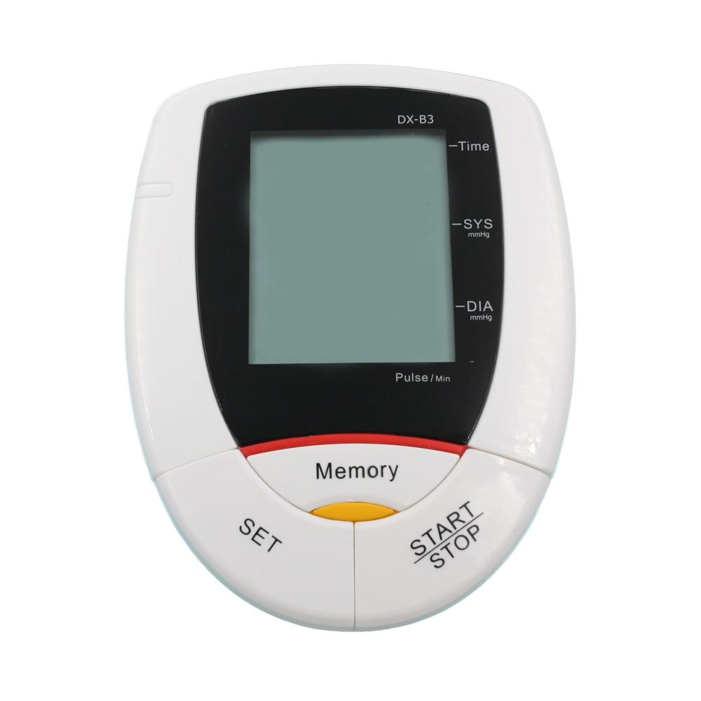 ФОТО LCD Automatic Digital Upper Arm Blood Pressure Monitor Sphygmomanometer Portable