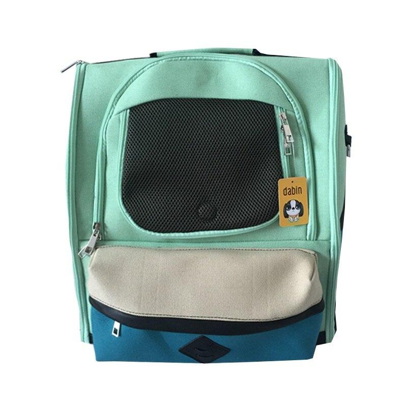 ETHIN Mode Doppel Schulter Pet hund Träger hund katze Brust pack Tragbare Reisetasche Front Tasche 3 farbe liefern-in Hund-Träger aus Heim und Garten bei  Gruppe 1