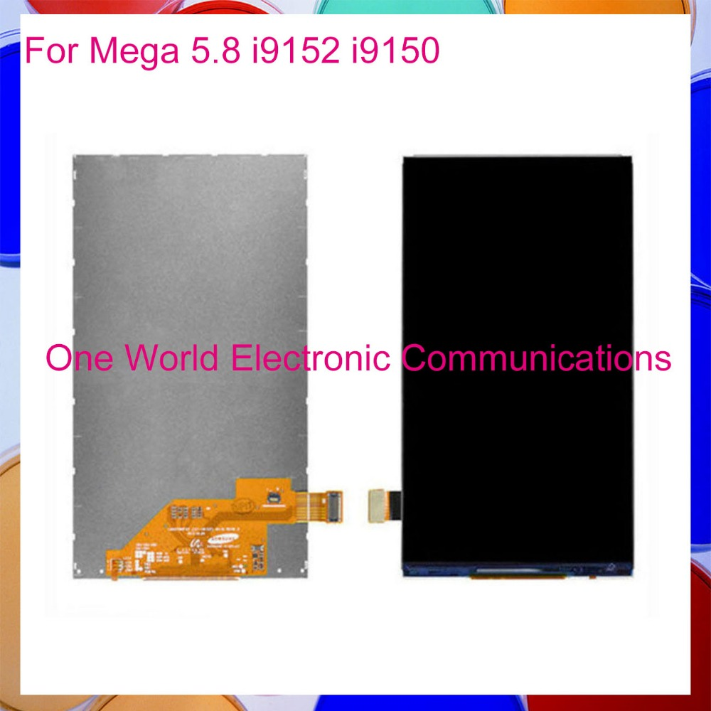 One Wolrd 5.8 For Samsung Galaxy Mega 5.8 I9150 I9152 LCD Screen Display Replacement Tracking Code + Free Shipping