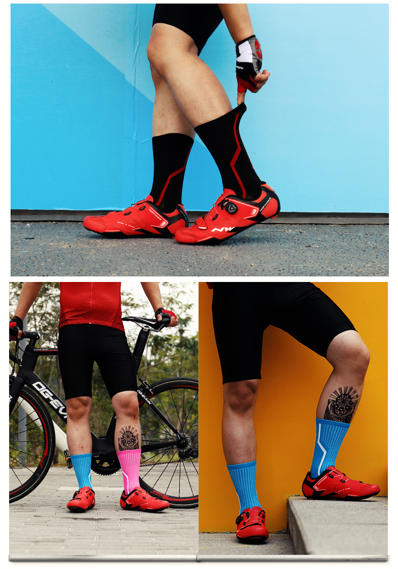 unisex esporte meias estrada mtb bicicleta meias