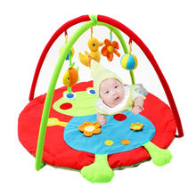 Baby Toys Play Mat Game Tapete Infantil Toodle Frog Educational Crawling Mat Play Gym Kids Blanket Carpet(China)