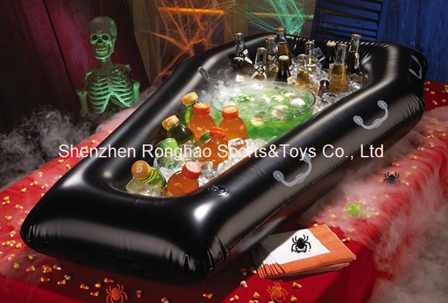 halloween inflatable serving salad bar buffet picnic drink cooler party ice bucket holder black 46ft