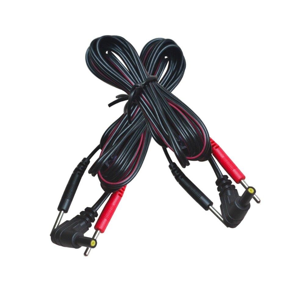 5 teile/paket Ersatz Elektrode Blei Drähte Verbinden Kabel Pin 2mm Für ZEHN 7000 Und ZEHN Elektronische Therapie Massage Maschinen