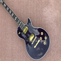 Top Selling Purple Tiger Flame China OEM Custom Electric Guitars Body & Kits Custom Available In Stock
