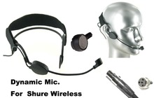 High Qulity Black DYNAMIC Headset Head Microphone For SH U- RES PGX ULX SLX UT ... Wireless