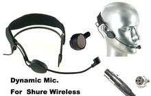 High Qulity Black DYNAMIC Headset Head Microphone For SH U- RES PGX ULX SLX UT ... Wireless