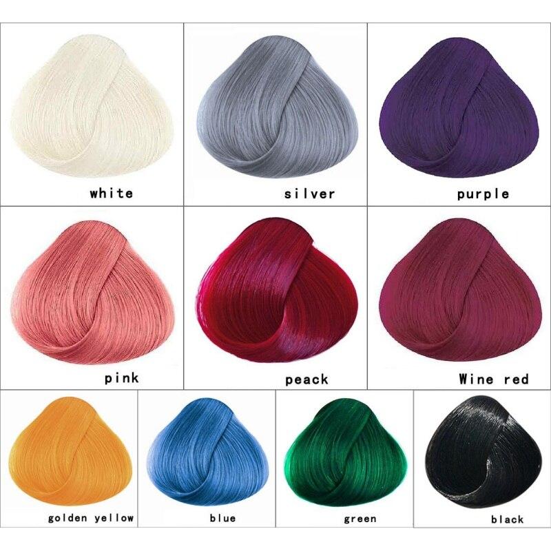Основные цвета волос