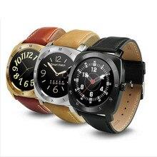 Marca dm88 smart watch 1.22 polegadas tft capacitiva de tela sensível ao toque de apoio relógio de frequência cardíaca do bluetooth para ios apple telefone android telefone