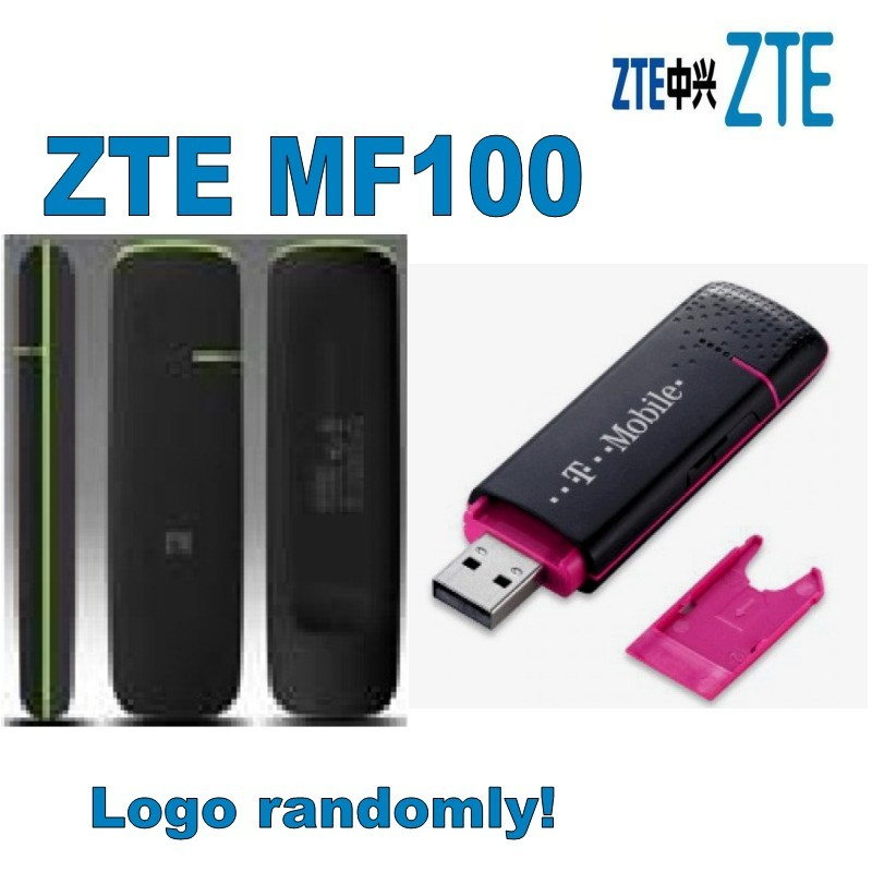 Unlocked ZTE MF100 3G 3.6M USB dongle wireless Modem image