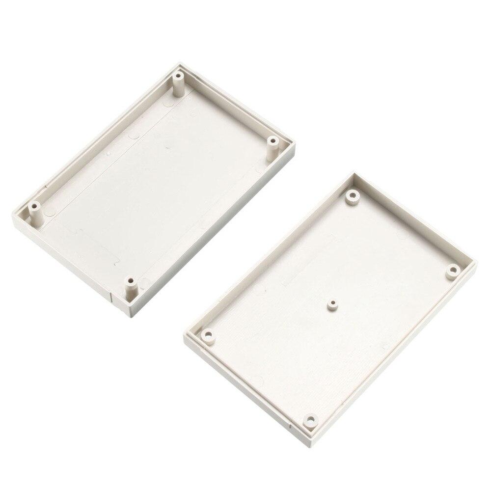 Uxcell 1Pcs 90x65x36mm / 100x60x30mm / 125x80x26mm Electronic Plastic DIY ABS Junction Box Enclosure Case Gray/Black/White Color