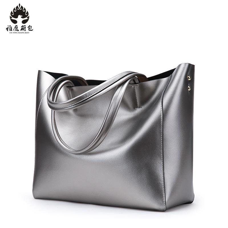 100% Luxury Genuine Leather Women Shoulder Bag Brand Designer Cowhide Genuine Leather Handbags Skin Crossbody Bag new american luxury style 100% oil genuine leather women composite shoulder bag brand designer cowhide handbags tote li 1358