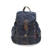Модные женские туфли рюкзак высокое качество Молодежные джинсовые рюкзаки для девочек-подростков Женский школьная сумка колледж Ветер Путешествия Bagpack.