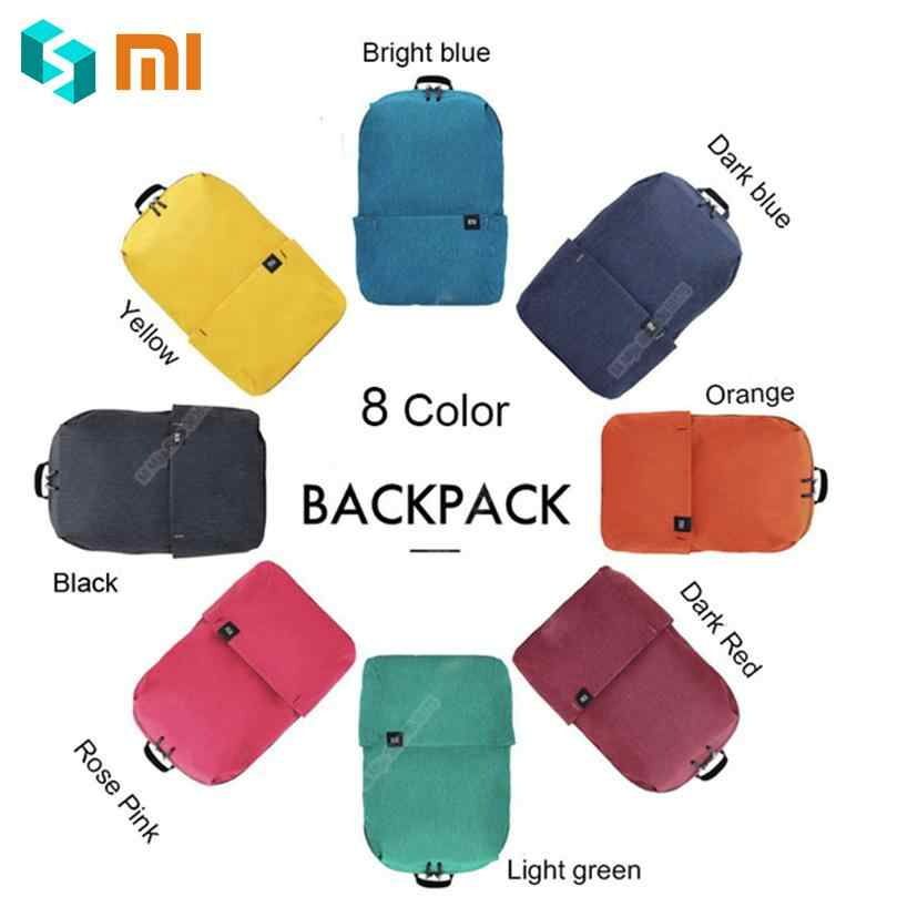 Solid Original Xiaomi Backpacks 10L Bag-s Urban Leisure Sports Chest Pack-Bag Light Weight Small Size Shoulder Unisex Rucksack