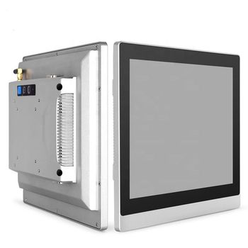 10.4 Inch Sensitive Resistance Touchscreen Industrial Computer Table Panel Mini PC With Parallel Port