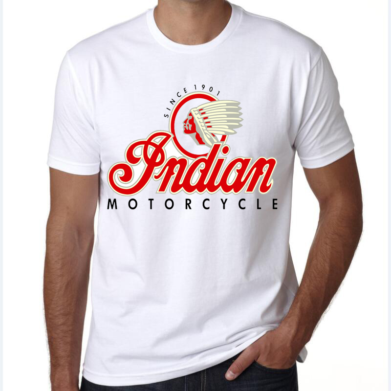summer 2019 Vintage Indian Motorcycle tank of Metro Milwaukee headdress   T  -  shirt   Top Men   T     shirt   New Design High Quality
