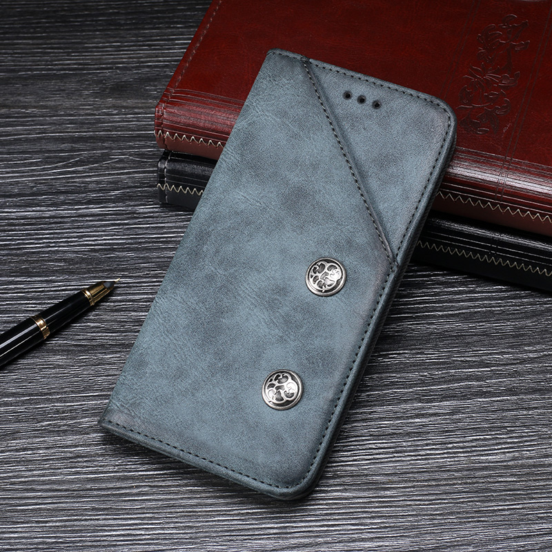 Itgoogo For Huawei GR5 2017 Case Cover 5.5 inch Mobile Phone Bag Hight Quality Retro Flip Leather Case For Huawei BLN-AL10 Cover