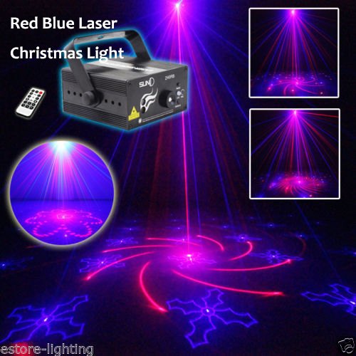 Suny Christmas Lights 3 Lens 40 Patterns red blue Decorative Holiday Show Party Laser палатка holiday 3 кт3018