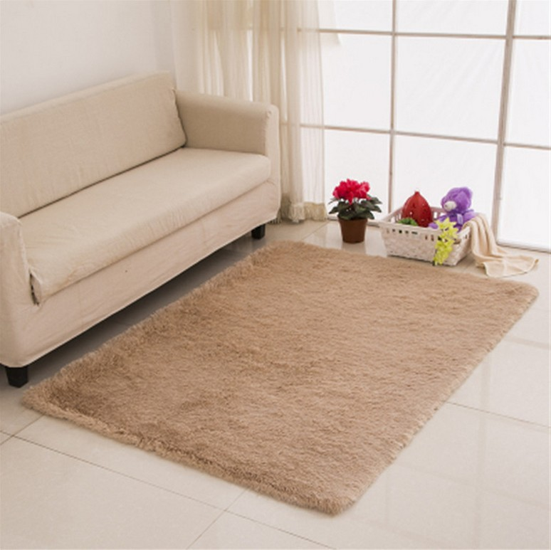 Sunnyrain solid color shaggy indoor rugs and carpet for - Tappeti da sala ...