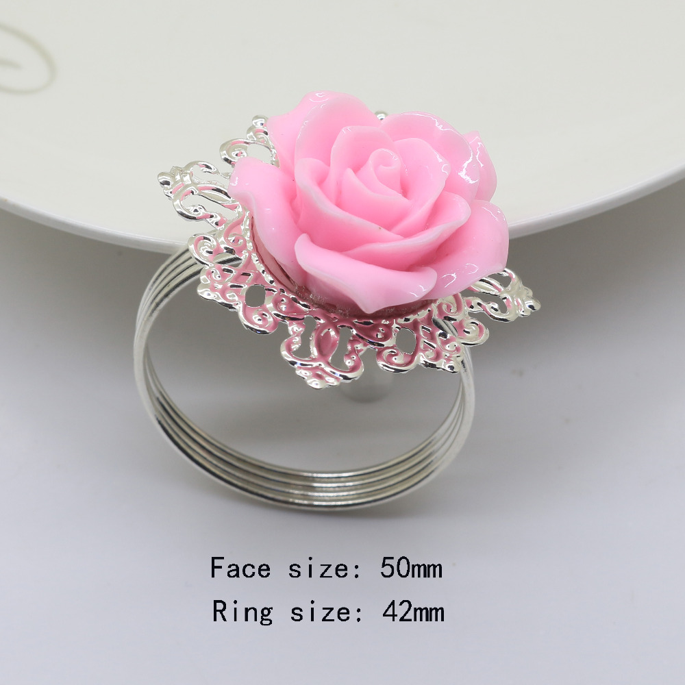 Buy napkin flower rings and get free shipping on AliExpress.com