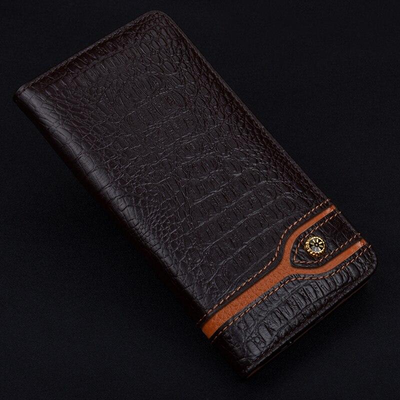 5.7 pouces Mature série portefeuille étui en cuir pour Xiao mi 5 S mi 5 s Plus étui en cuir de dormance intelligent pour Xiao mi 5 s plus