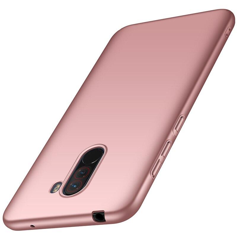 For-Xiaomi-Pocophone-F1-Case-Hard-Matte-Back-Cover-Pocofone-Poco-F1-Slim-Shockproof-Skin-Single (9)