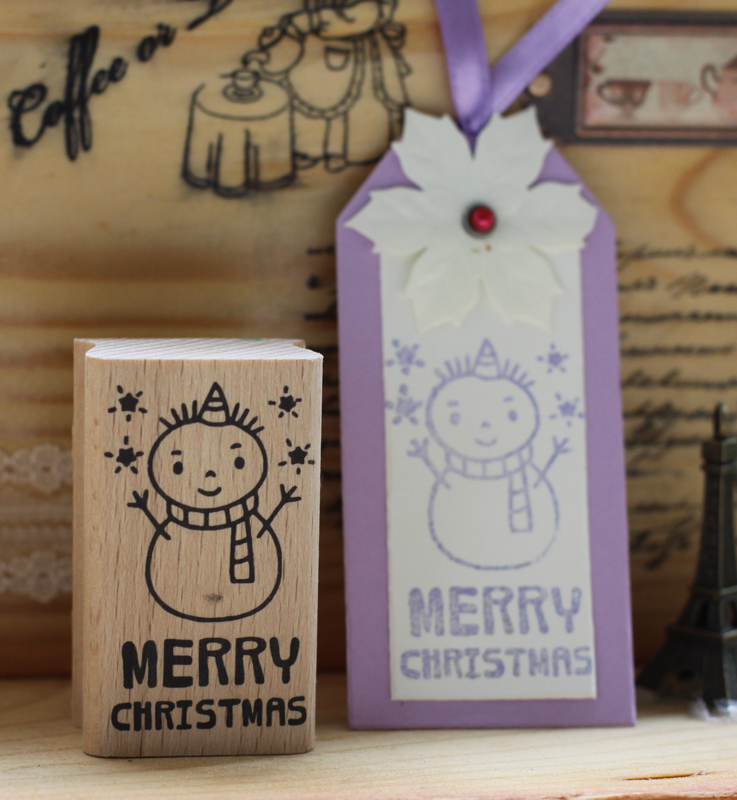 handmade snow man merry christmas 6*3.5cm wooden rubber stamps for scrapbooking carimbo timbri christmas stamps details about east of india rubber stamps christmas weddings gift tags special occasions craft